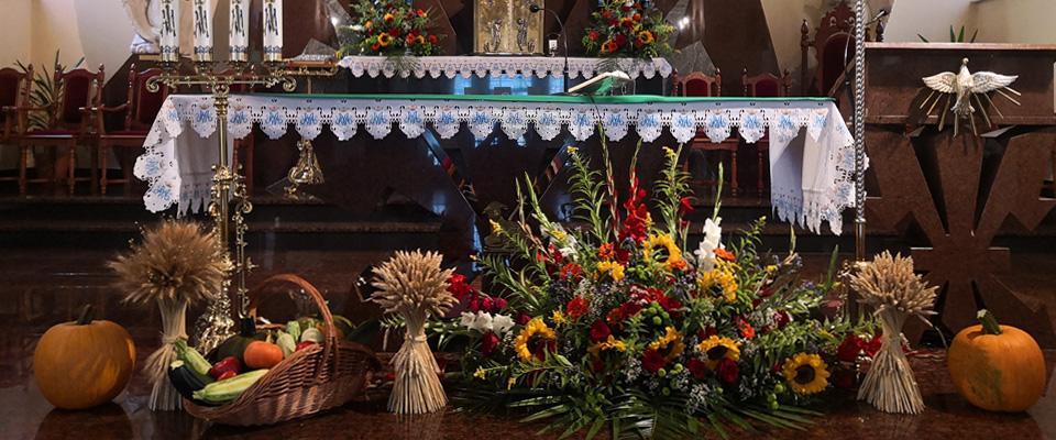 Ślubna dekoracja kościoła